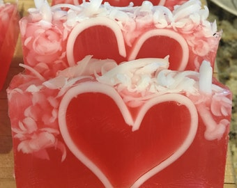 White Tea & Ginger - Scented Glycerine Soap Handmade