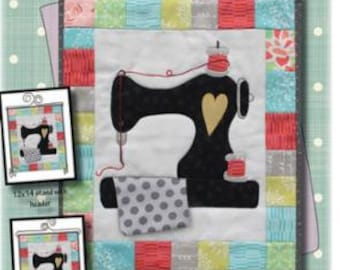 Patch Abilities, Inc Sew Vintage Wall Hanging Pattern Formatted for Personal Cutting Machines P162