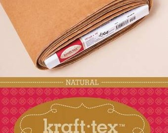 Kraft-Tex Paper Fabric 20228 in Natural by C & T Publishing