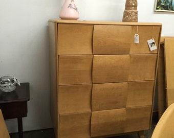 Vintage Haywood Wakefield Bedroom vanity vanity stool dresser full size head foot board