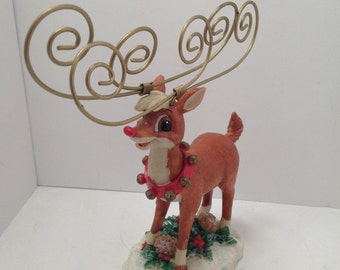 Rudolph The Red Nosed Reindeer Note Holder