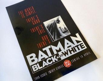 BATMAN Black and White Promo Comic ~ 1996 - Walter Simonson! Richard Corben! DC Comics