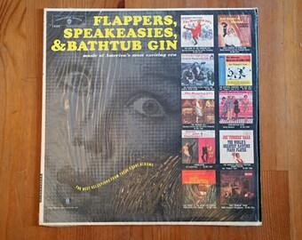 Various - Flappers, Speakeasies & Bathtub Gin (1961) Vintage Vinyl Record