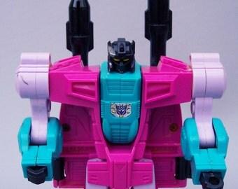 Vintage G1 Transformers Snap Trap Figure C8 Seacons Rare