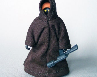 Vintage Star Wars No Coo Smooth Robe Jawa C85 100% Complete