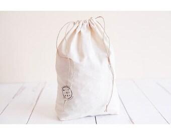 bag bulk medium size organic cotton