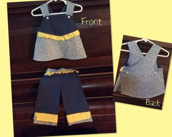 Top and matching capris 3T