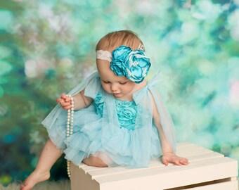 Bluebird Headband (made to match my Bluebird Dress)