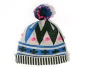 Reykjavik Hat with pompons