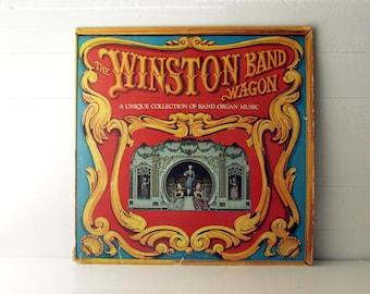 The Winston Band Wagon. Winston Band Organ Music. Vinyl Record. 1974.