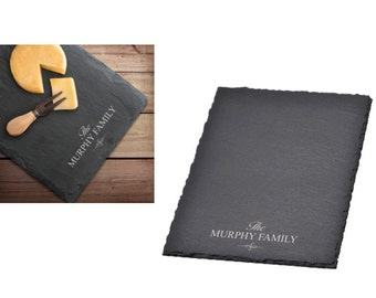 Slate Cheese Personalized