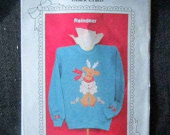 Reindeer Doily Wear Pattern by Ozark Crafts