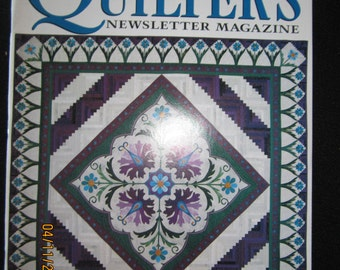 Quilter's Newletter Magazine April 1997