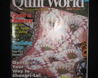 Quilt WorldmSeptember 2001