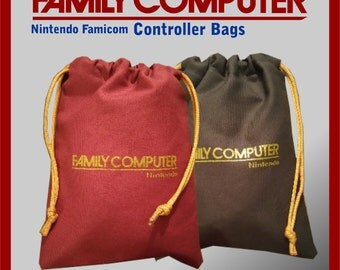 Nintendo Family Computer (Famicom) pull string controller bags