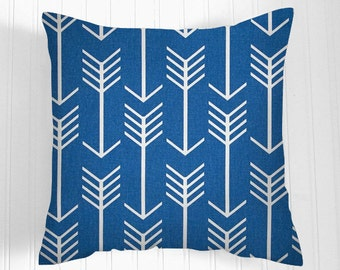 Pillows, Blue Pillow Covers, Throw Pillows, Decorative Pillows, Pillow Covers