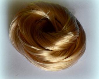 Oatcake Nylon Doll Hair