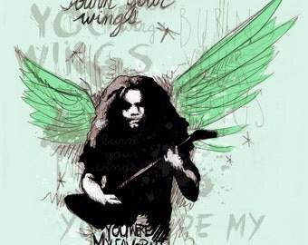 Burn Your Wings Fine Art Print