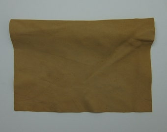 Buckskin Tanned Deerskin Leather, Perfect for Handbags, Garment, Leather Crafts, Deerskin Project Pieces, Craft Piece, Leather Pieces