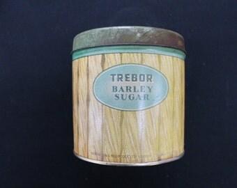Trebor Barley Sugar tin