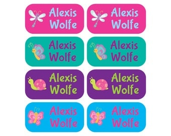 100 Clothing Tag Labels - Set of 100 labels - Great for Daycare and School Uniforms
