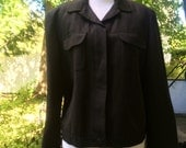 Lightweight black jacket (sz 8)