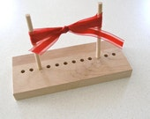 Ribbon Bow Maker, for Scrapbooking & Cardmaking - select hardwood and softwood combination styles