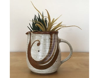 Gorgeous Stoneware Pitcher