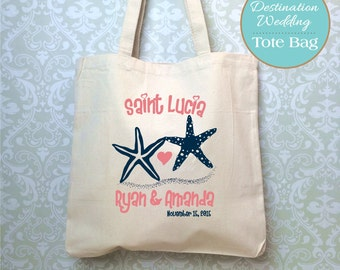 Destination Wedding Welcome Bag Design Proof Only Tote Starfish