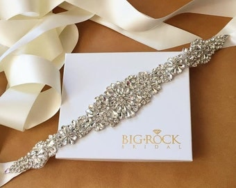 Rhinestone Belt - Wedding Dress Sash - TENNESSEE