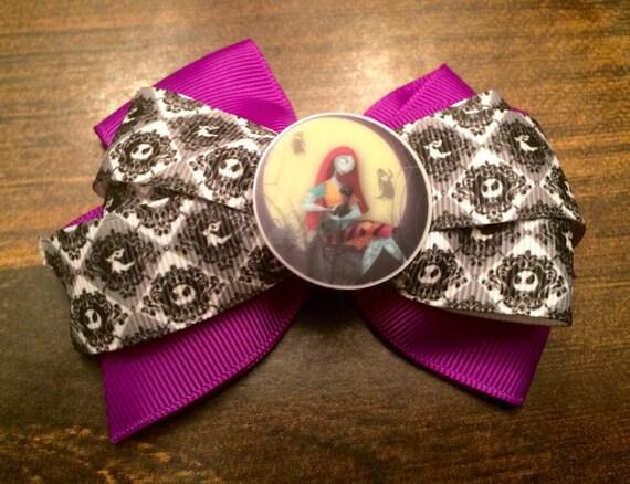 Purple sally bow