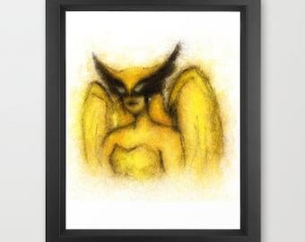 Hawkgirl INSTANT DOWNLOAD, DC Comics, Justice League, Digital Art, Downlaodable, superhero, kids, children decor