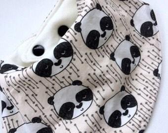 Panda Bandana Bib