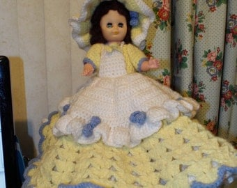Unique Crochet Bed Doll Related Items Etsy