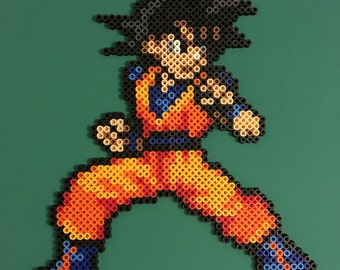 Goku Perler (Black Hair)