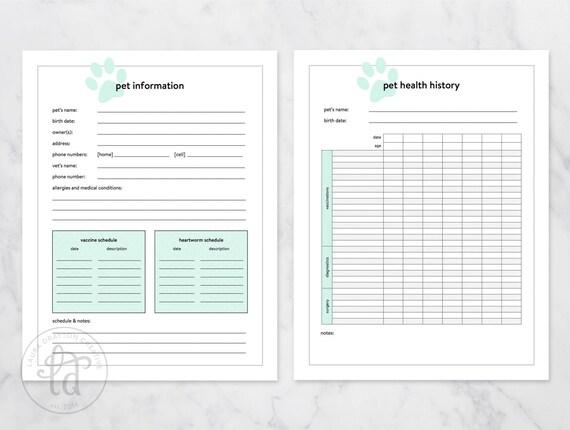 printable pet sitter checklist
