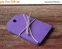 SALE Paper Tags, CHOOSE YOUR Color, Blank Tags, Gift Tags, Wedding, Scrapbooking, Package Tags, Favor Tags