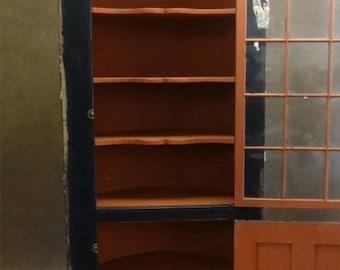 Antique Primitive Cupboard 19th Century