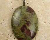 Rare Natural Bloodstone necklace pendant/rock charm Best selling Gemstone Jewelry Gift