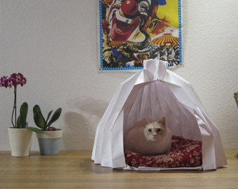 Modern Foldable pet house- Cat bed- Dog pet- design for pet-Pet supplies-  Modern travel bed for pet