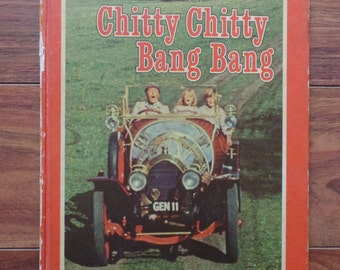 Hardcover-The Adventures of Chitty Chitty Bang Bang