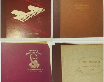 TSCHAIKOWSKY, lot of 4 albums, records