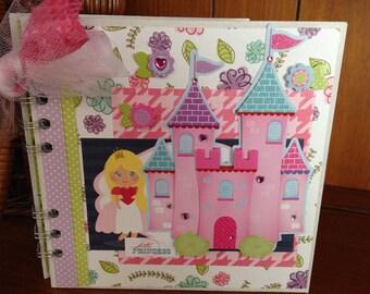 Completed scrapbook album- Little Princess