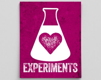 Science Girls, Science Gifts for Women, Science Geek, Gift Ideas for Scientist, Women in STEM, Lab Office Decor