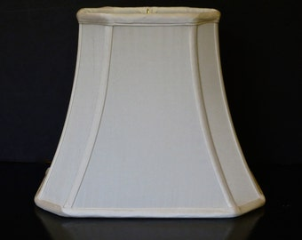 cut corner rectangle lampshade