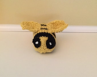 Bee, busy bee stuffed soft sculpture