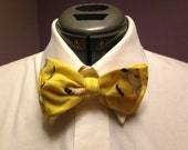 Despicable Me Minions Print Bow Tie
