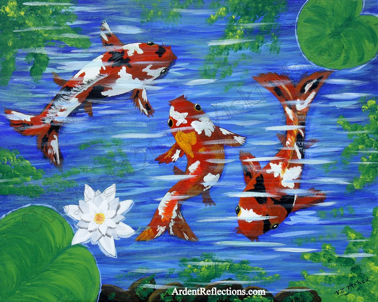Koi fish decor koi fish home decor koi fish art koi fish for Koi home decor