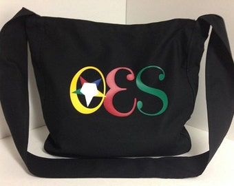 OES Tote Bag with Long Shoulder Strap