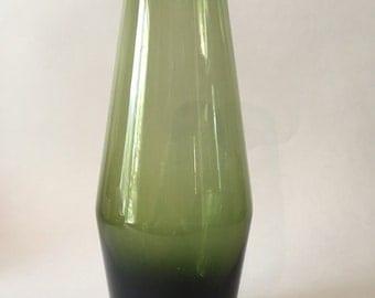 Vintage Mid Century Danish Modern scandinavian glass vase